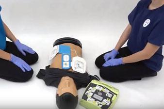 Az automata defibrillátor használata