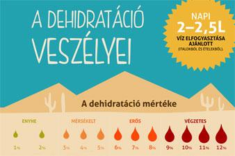 Milyen veszélyeket rejt a dehidratáció?
