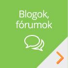Blog, fórum, betegtörténet