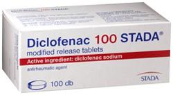 Diclofenac az orvosok bevonattal