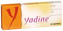 yadine fogyás)