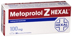 Metoprolol Z Hexal 100