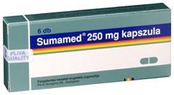 SUMAMED 250 mg