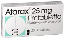 Atarax 25 mg filmtabletta