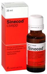 Sinecod cseppek