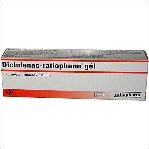 Diclofenac-ratiopharm gél