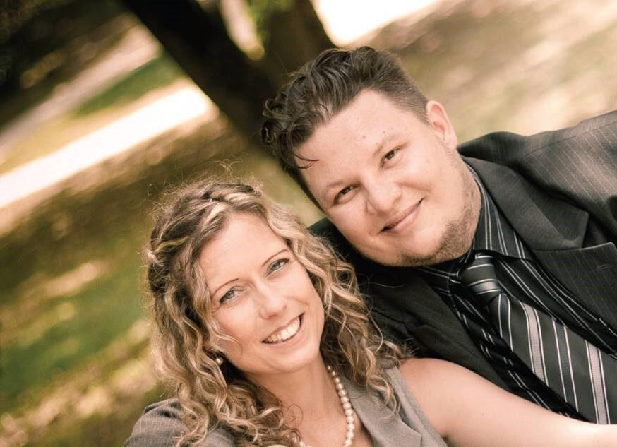 Oravetz Dániel és felesége