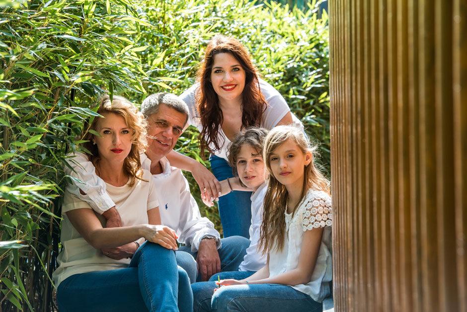 Dr. Major Tamás és Dr. Bartha Tünde és lányaik