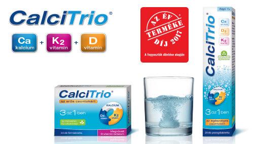 CalciTrio - Az egészséges csontokért