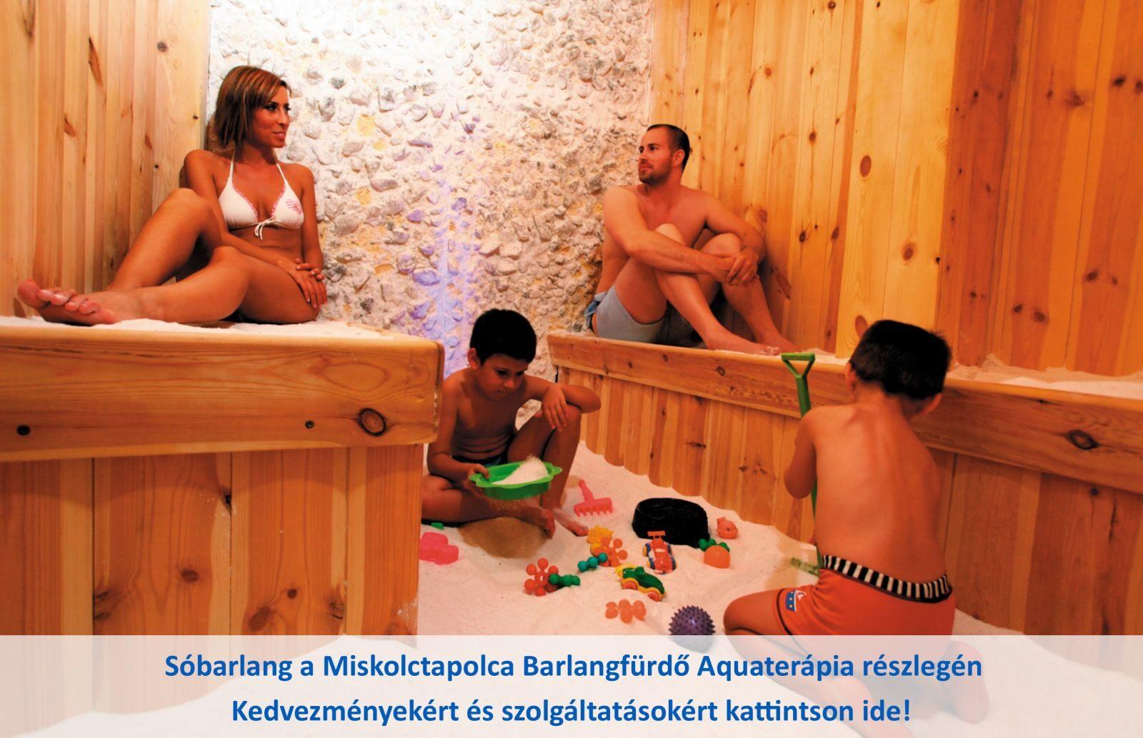 Miskolctapolca Barlangfürdő Aquaterápia