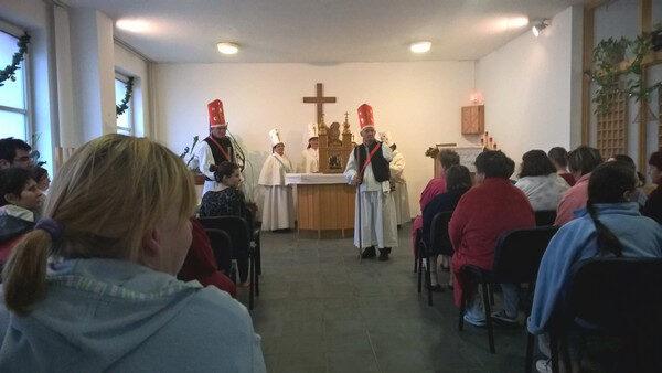 Karácsony az ökumenikus kápolnában a Debreceni Egyetem Kenézy Gyula Egyetemi Kórházban