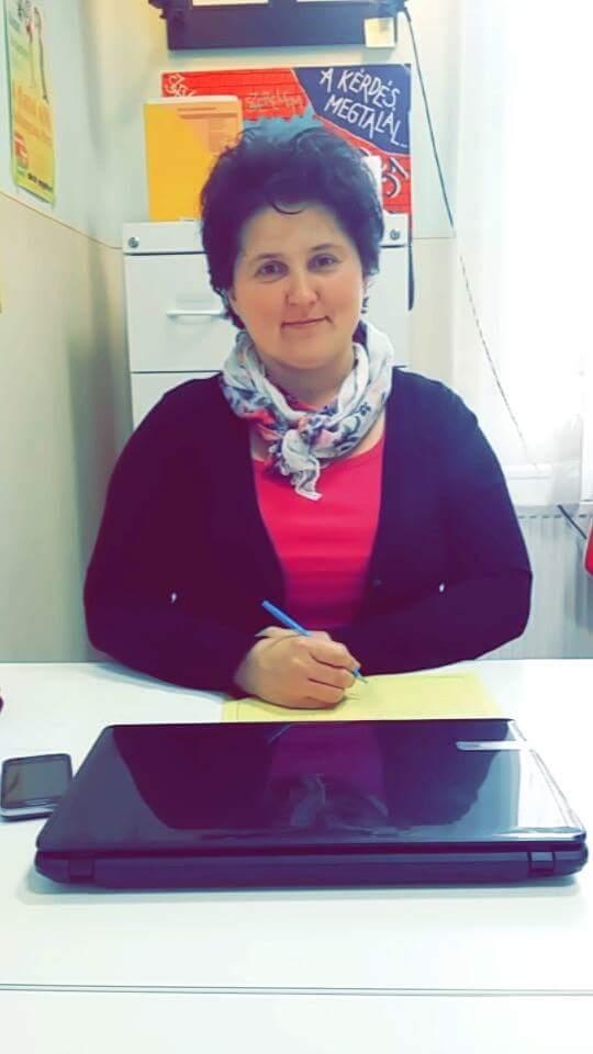 Kissné Jakab Ildikó, védőnő
