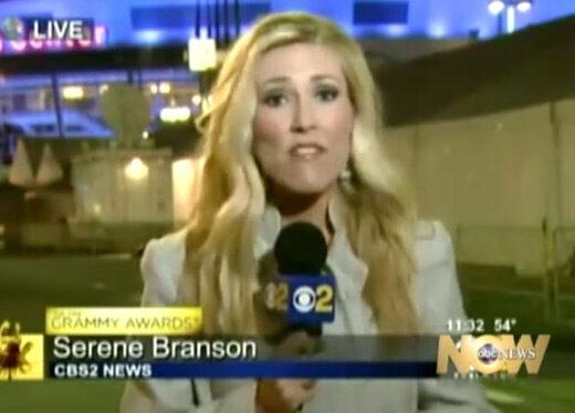 Serena Branson stroke-ot kapott éleő adásban