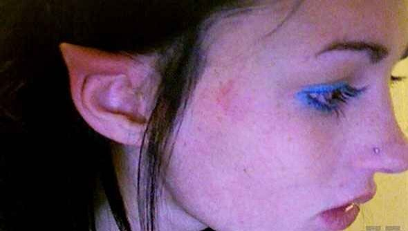 Tünde-fül és hegtetoválás: bizarr testszépítés